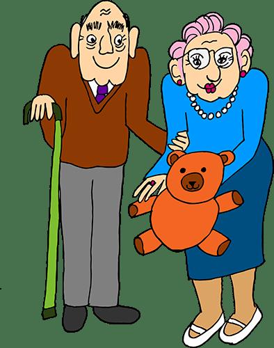 Kind grandparents