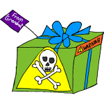 Toxic gifts and grandparents