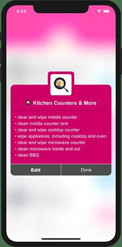 Moneypants iphone job checklist
