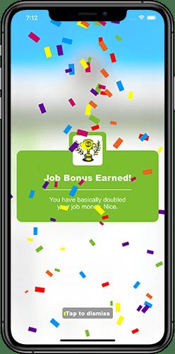 Moneypants app job bonus